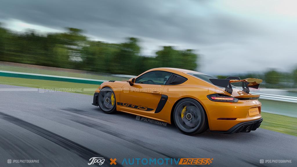 Porsche 718 GT4 RS par Jpog.fr